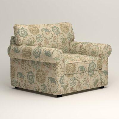 Newton Side Chair Color: Barlow Sunwashed Jacquard