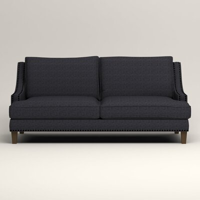 Larson Sofa Upholstery: Rowley Navy Tweed