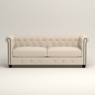 Hawthorn Chesterfield Sofa Upholstery: Bayou Natural