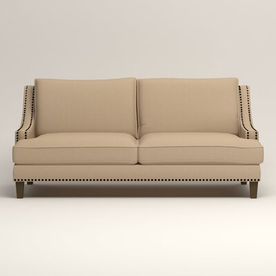 Larson Nailhead Trim Sofa Upholstery: Tillery Sand