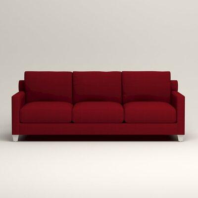 Kerry Sofa Upholstery: Tillery Crimson