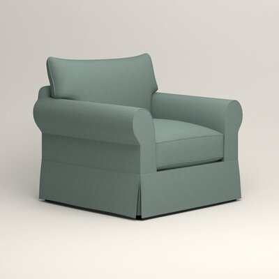 Jameson Chair Fabric: Bryant Calypso Textured Slub