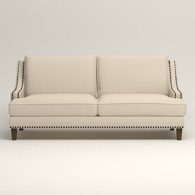 Larson Sofa with Toss Pillows Upholstery: Bayou Natural