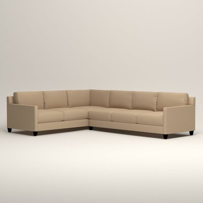 Kerry L-Shaped Sectional Orientation: Left Facing, Upholstery: Tillery Sand