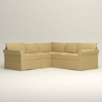 Jameson Symmetrical Sectional Orientation: Left Facing, Upholstery: Tillery Sunglow
