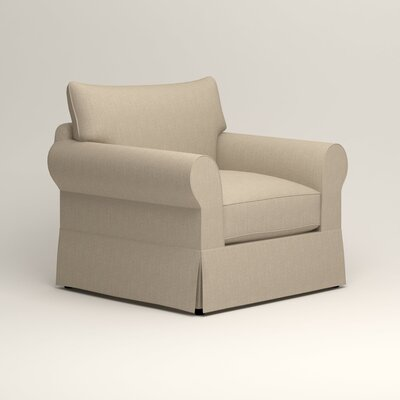 Jameson Chair Fabric: Watson Malt Blended Cotton
