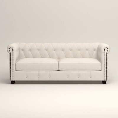 Hawthorn Chesterfield Sofa Upholstery: Bevin Natural