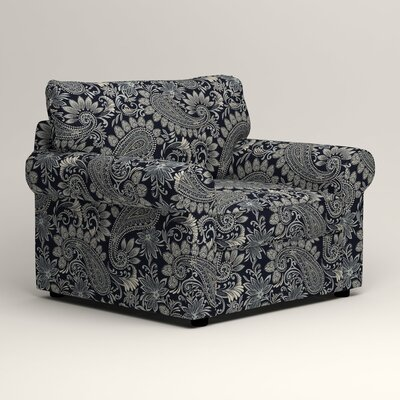 Newton Side Chair Color: Wallace Midnight Paisley