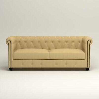Hawthorn Chesterfield Sofa Upholstery: Bayou Sunshine