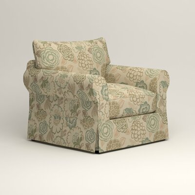 Jameson Chair Fabric: Barlow Sunwashed Jacquard