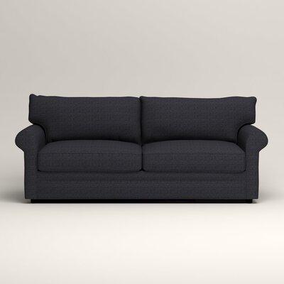 Newton Sofa Upholstery: Rowley Navy Tweed