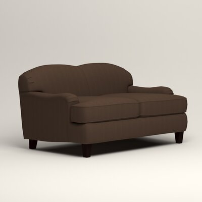 Cheshire Loveseat Upholstery: Bayou Coffee