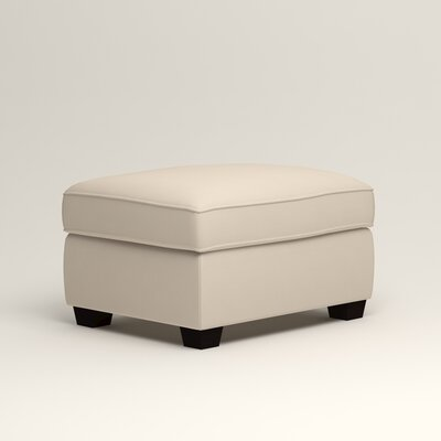 Clarkedale Ottoman Upholstery: Bayou Natural