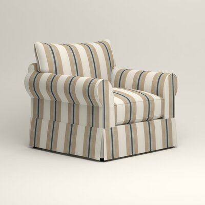 Jameson Chair Fabric: Brinley Seabreeze