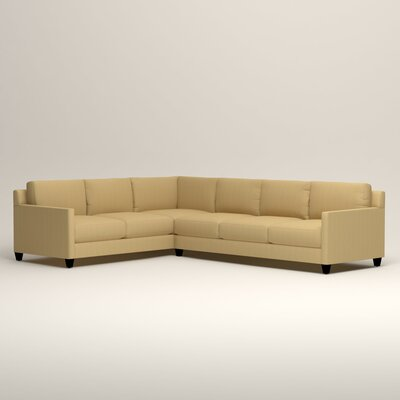 Kerry L-Shaped Sectional Orientation: Left Facing, Upholstery: Tillery Sunglow
