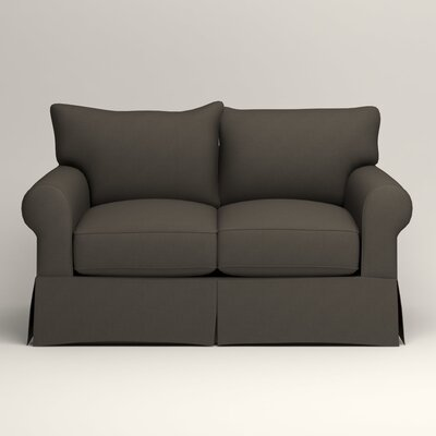 Jameson Loveseat Upholstery: Jemma Storm Gray