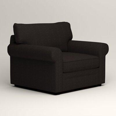Newton Side Chair Color: Bryant Ebony Textured Slub