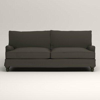 Montgomery Slipcovered Sofa Upholstery: Tibby Pewter