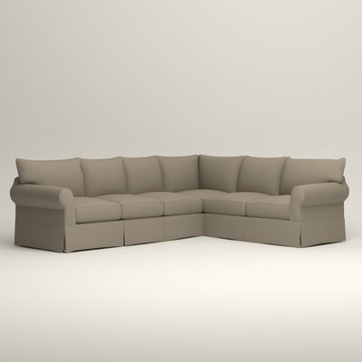 Jameson L-Shaped Sectional Orientation: Left Hand Facing, Upholstery: Jemma Silver Mist