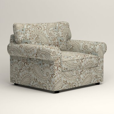 Newton Side Chair Color: Wallace Moonstruck Paisley