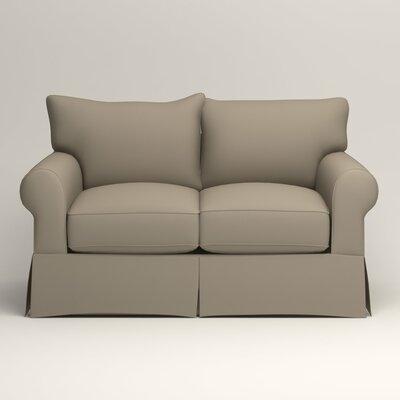 Jameson Loveseat Upholstery: Jemma Silver Mist