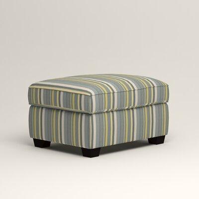 Clarkedale Ottoman Upholstery: Dunagen Ocean