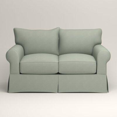 Jameson Loveseat Upholstery: Tillery Mint