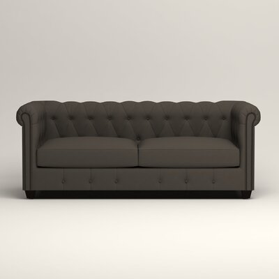 Hawthorn Chesterfield Sofa Upholstery: Tibby Pewter