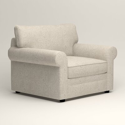 Newton Side Chair Color: Stewart Paisley Linen