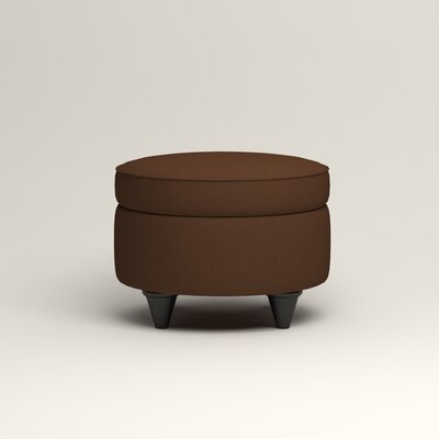 Olivet Storage Ottoman Upholstery: Microsuede Chocolate