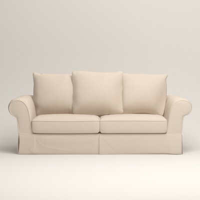 Owen Sofa Upholstery: Microsuede Oyster
