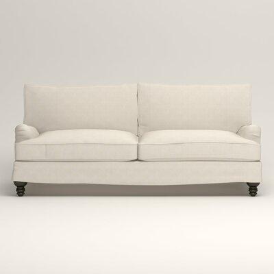 Montgomery Slipcovered Sofa Upholstery: Talc Basketweave