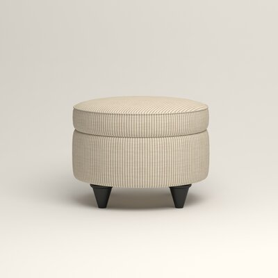 Olivet Storage Ottoman Upholstery: Astere Cocoa