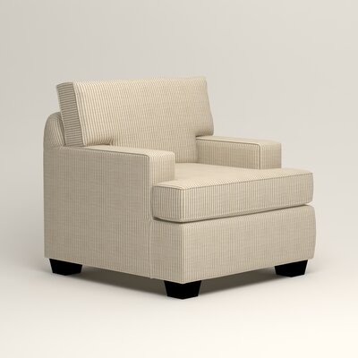 Clarkedale Armchair Upholstery: Oakley Ivory