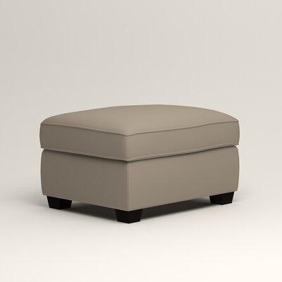 Clarkedale Ottoman Upholstery: Tibby Linen