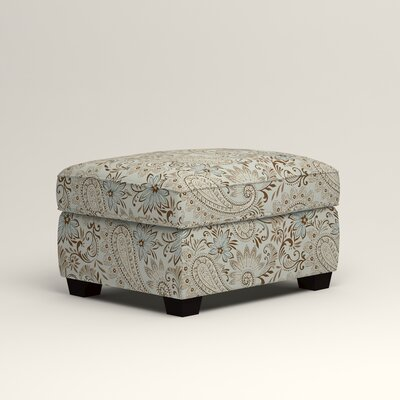 Clarkedale Ottoman Upholstery: Nadia Moonstone