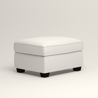 Clarkedale Ottoman Upholstery: Classic Bleach White