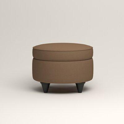 Olivet Storage Ottoman Upholstery: Jackson Bark Microsuede