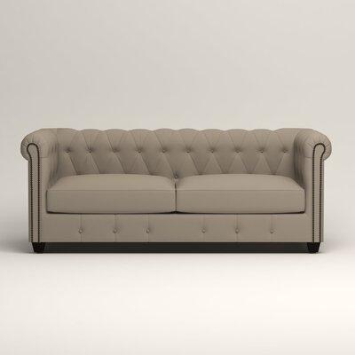 Hawthorn Chesterfield Sofa Upholstery: Tibby Linen