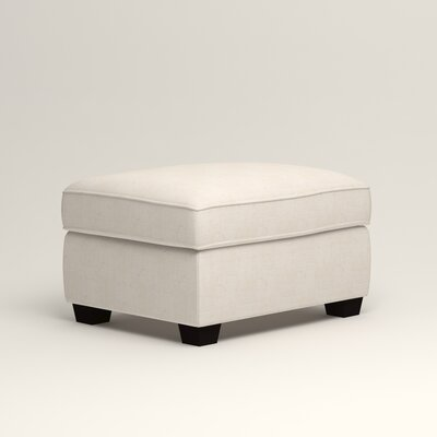 Clarkedale Ottoman Upholstery: Bevin Natural