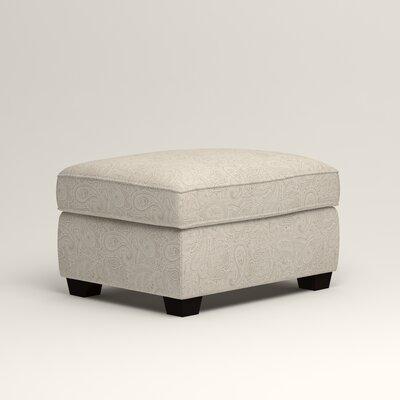 Clarkedale Ottoman Upholstery: Ronan Linen