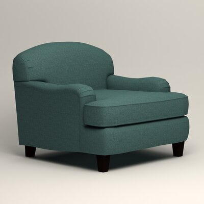 Cheshire Armchair Upholstery: Lizzy Prussian