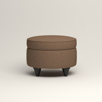 Olivet Storage Ottoman Upholstery: Lizzy Hemp