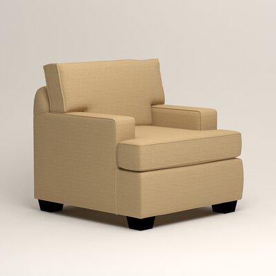 Clarkedale Armchair Upholstery: Trillion Saffron