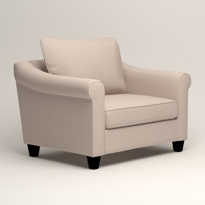 Brooke Armchair Upholstery: Lizzy Linen