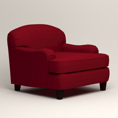 Cheshire Club Chair and a half Upholstery: Bayou Flame