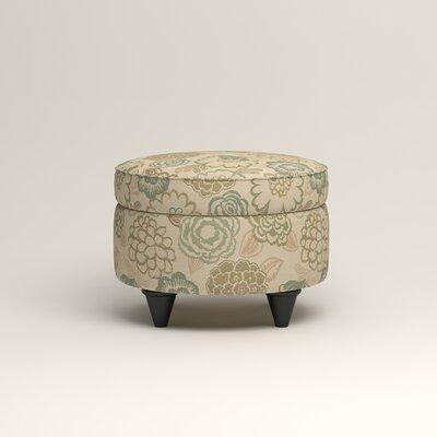 Olivet Storage Ottoman Upholstery: Okeefe Seabreeze