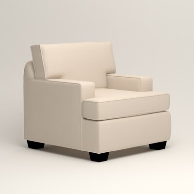 Clarkedale Armchair Upholstery: Microsuede Oyster