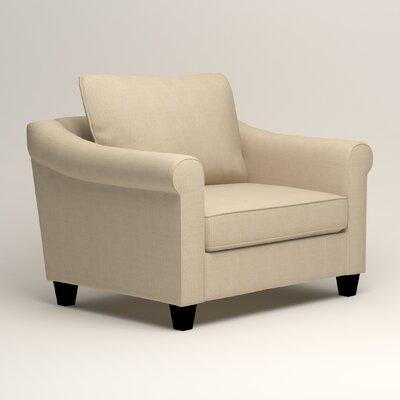 Brooke Armchair Upholstery: Hilo Flax