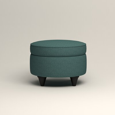 Olivet Storage Ottoman Upholstery: Lizzy Prussian